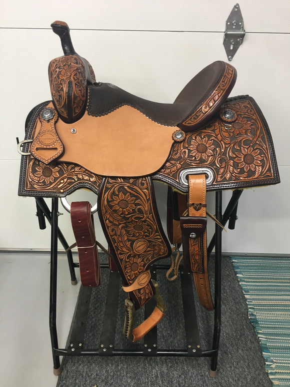 Barrel Saddle (55-19)