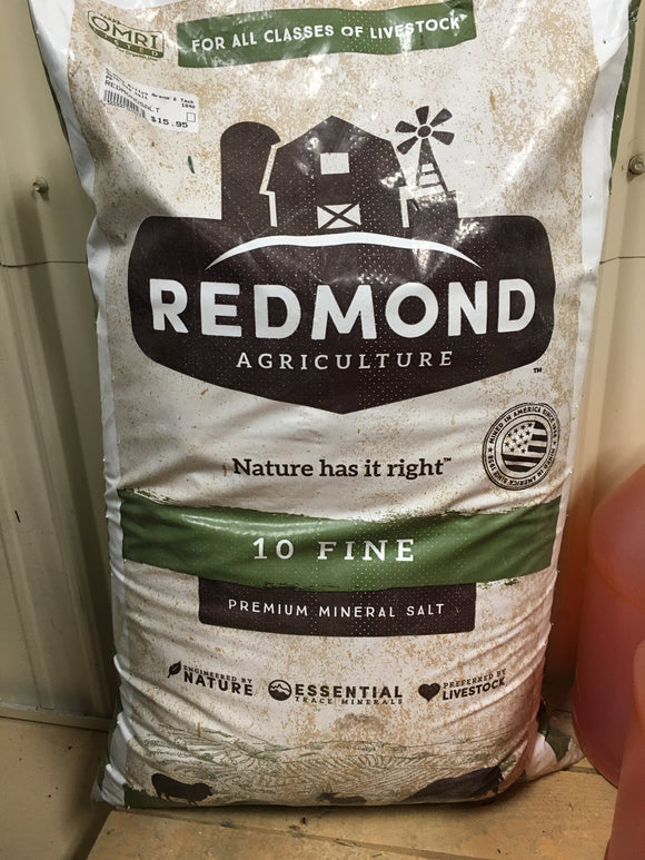 50lb Salt Bag (REDMONDSALT)