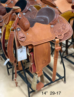 "Bronco Billy's 14"" Chestnut Team Roper (29-17)"