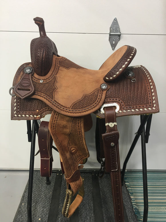 Barrel Saddle (53-19)
