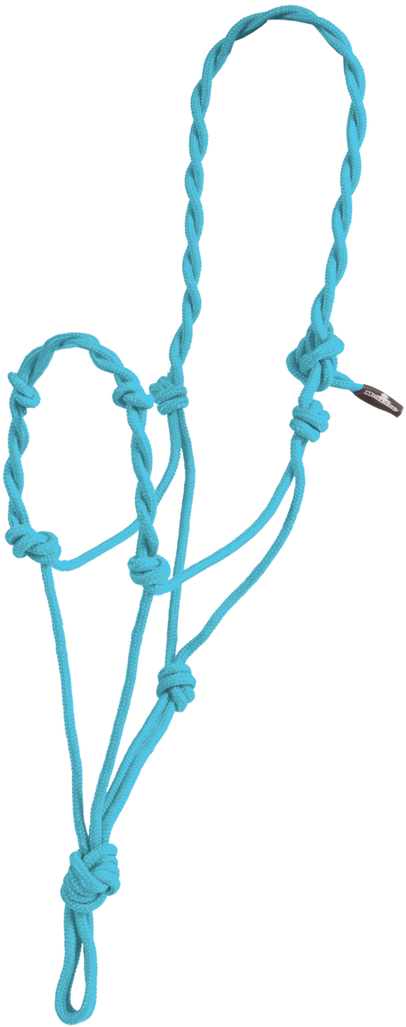 Twisted Rope Halter Without a Lead Rope (8101)