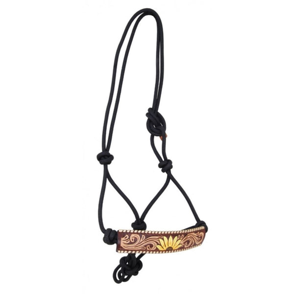Rafter T Painted Sunflower Rope Halter