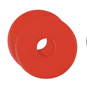 Red Rubber Bit Guard (244-188)