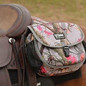 Camo Cashel Deluxe Saddle Bag (SB-RB-M-HL)
