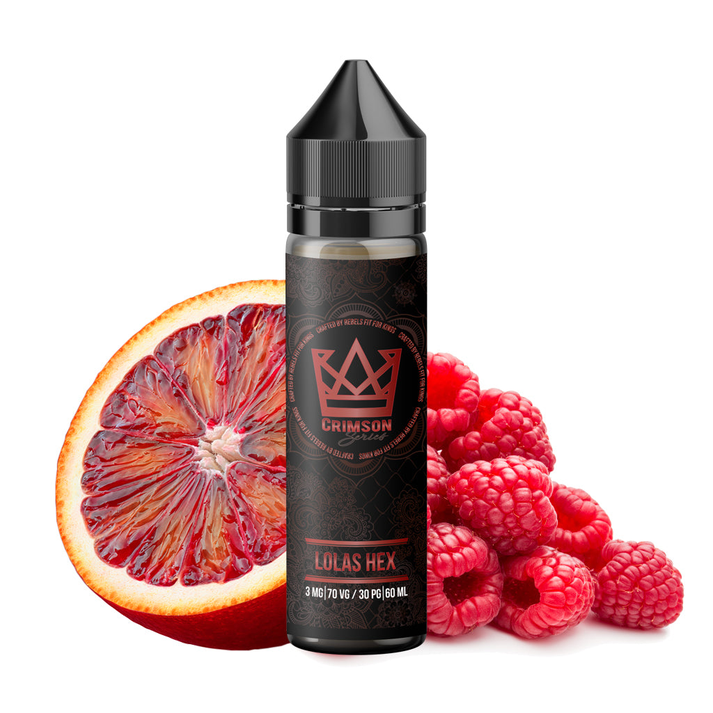 Crimson Lolas Hex - Nectarous raspberries with bursts of citrusy blood orange will leave you feeling possessed