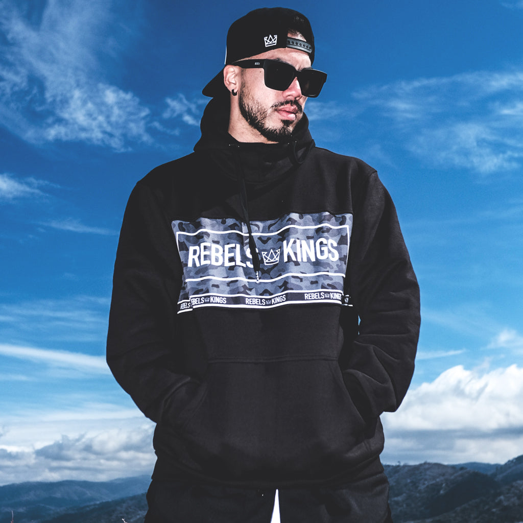 Rebels & Kings Winter Camo Pullover
