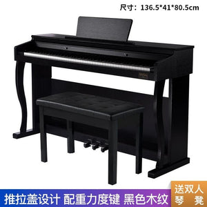 Electric Piano 88 Key Hammer Professional Adult Household Beginner Student Grade Examination Intelligent Electronic Keyboard