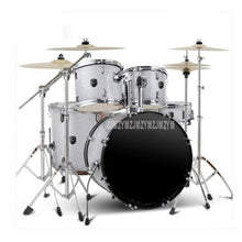 Adult/Child Professional Music Jazz Drum Set Kit 5 Drums 4/2 Cymbals Double Oil Skin Drum Alloy Musical Instruments Q900