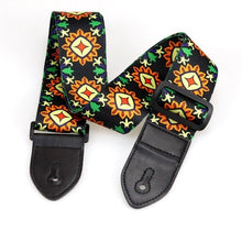 Nylon Guitar Strap Adjustable Nylon Straps for Acoustic Electric Guitar and Bass Multi-Color Guitar Belt Guitar Part Accessories