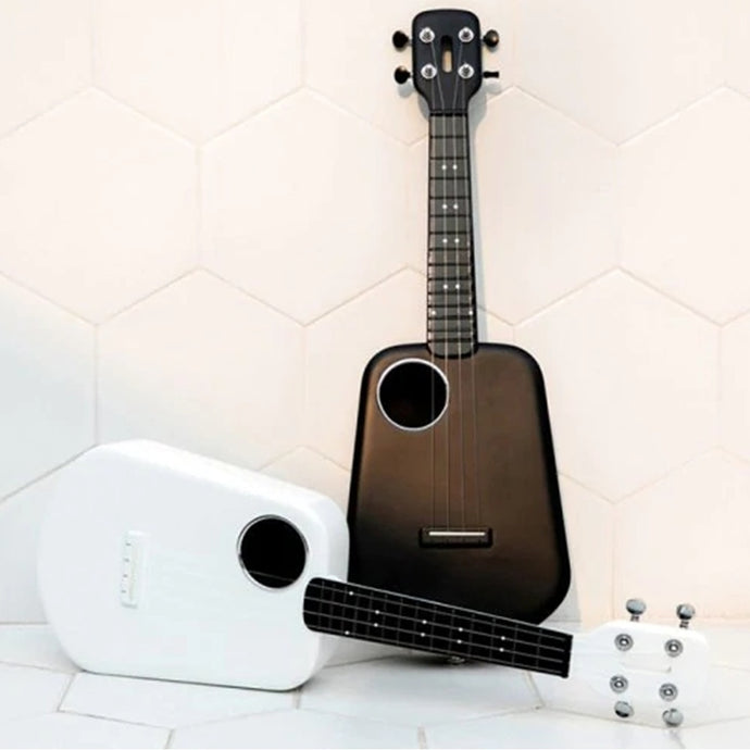 Populele 2 LED App Control USB Smart Ukulele 4 Strings 23 Inch Ukulele Concert Guitar ABS Fingerboard Acoustic Electric Guitar