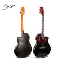 41 Inch Electric Acoustic Guitar M-1460-EQ Ovation Guitar Semi Electric Acoustic Guitar With  4-band pickup