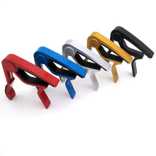 Accessories Aluminum Alloy Guitar Tuner Clamp Professional Key Trigger Capo for Folk Electric Musical Instruments Wholesale