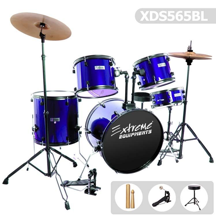 Drum Drum Set Blue XDS565BL
