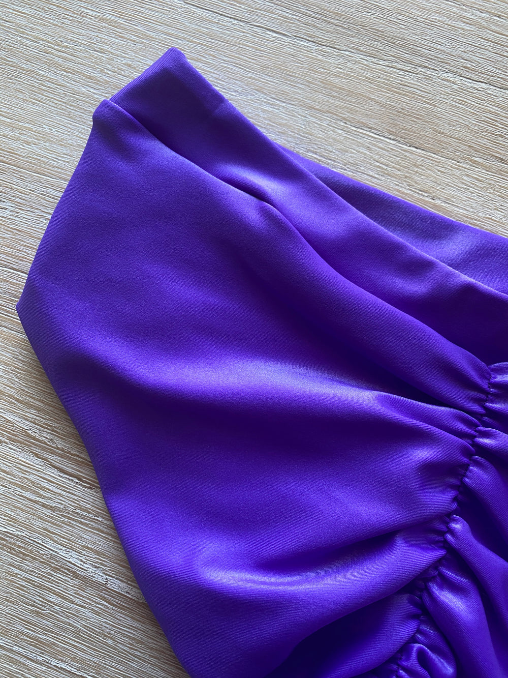 High Waisted Matte Purple