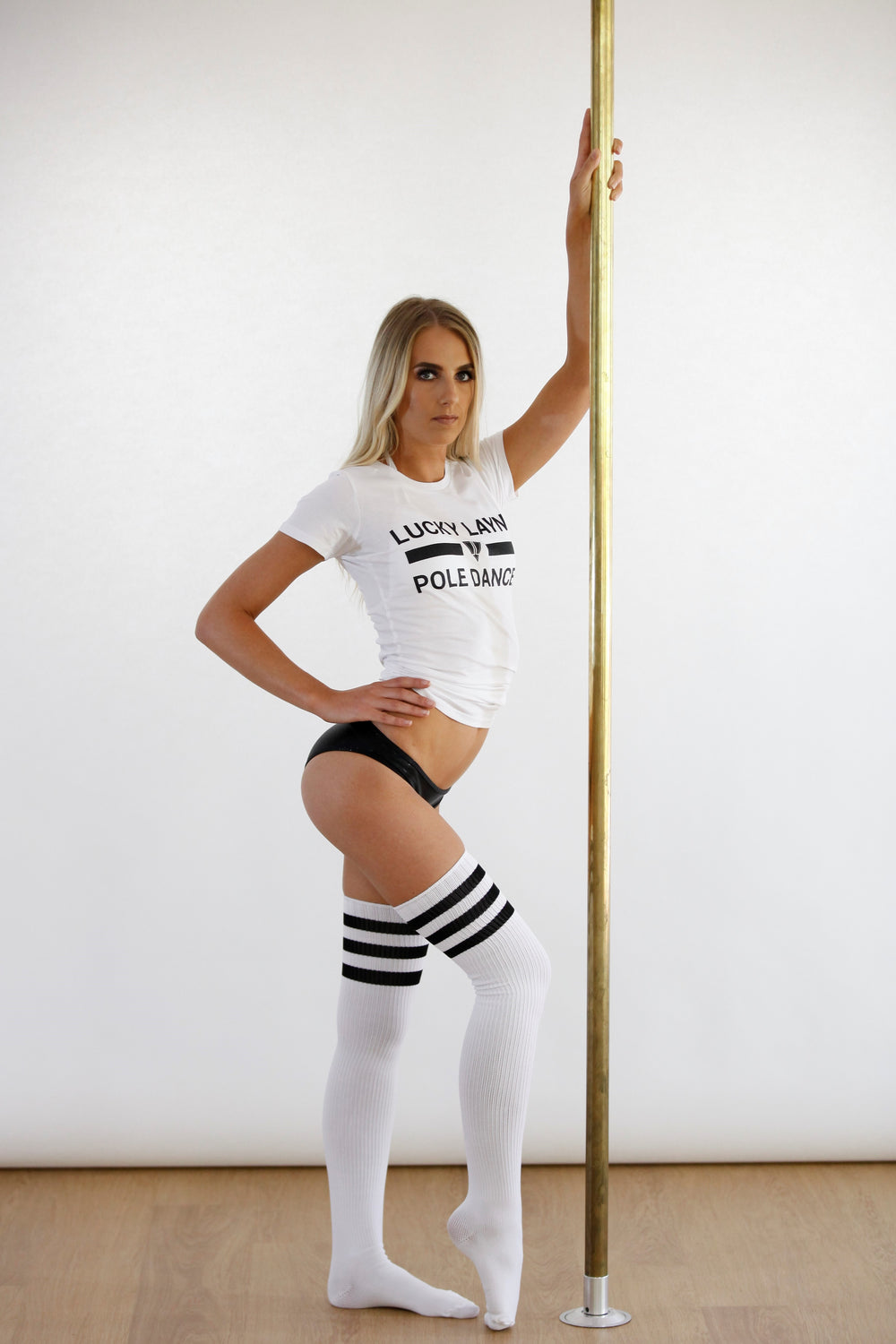 Pole Dancer Tees - White