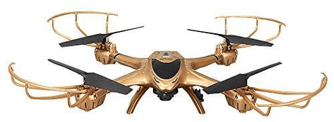 Image of Gold Predator Drone with Altitude Hold Mode