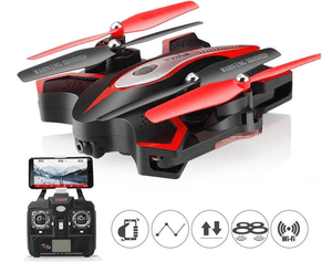 Headless Foldable RC Quadcopter Done with Camera