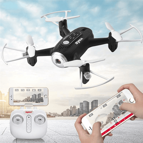 WiFi RC Headless Quadcopter Portable RC with HD Camera