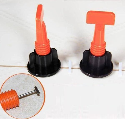 Reusable Floor Tile Leveling System