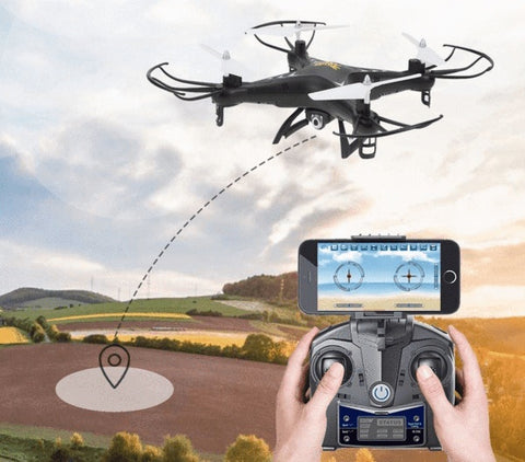 Image of RC Quadcopter Drone with Altitude Hold
