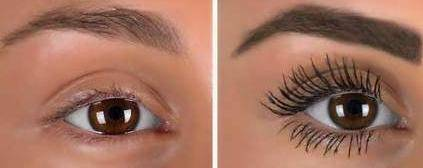 4D Thick and Long Lash Curl 360 Degrees Bending Mascara