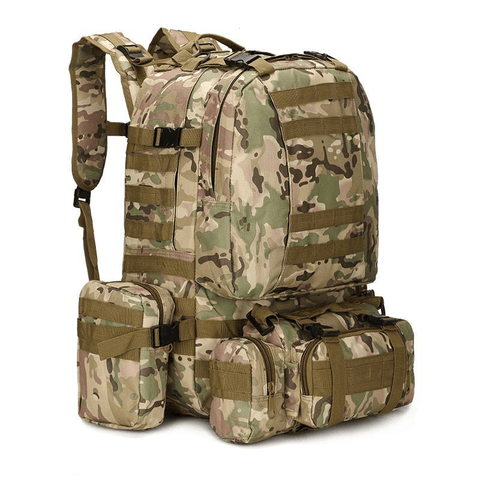 Image of 50L Water Resistant Outdoor Military Backpack