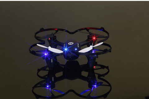 Image of Mini Black Quadcopter Drone with HD Camera