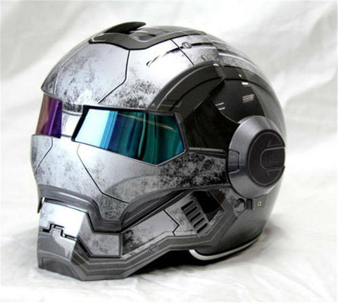 Image of Iron Man Motorcycle Helmet