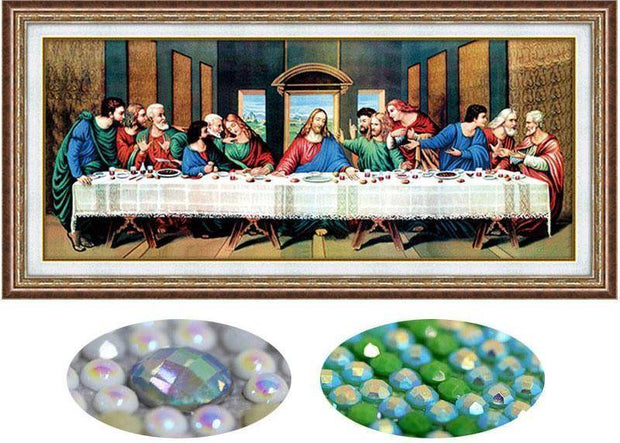 DIY Full Diamond Embroidery of the Last Supper