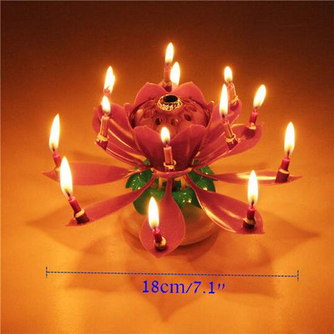 Image of Magic Musical Birthday Candle
