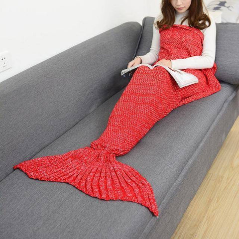 Handmade Mermaid Blanket