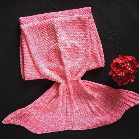 Image of Handmade Mermaid Blanket