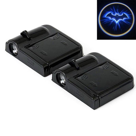 Image of Wireless Car Door Laser Light Batman Projection LED
