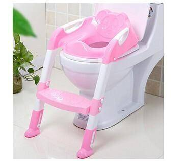 Baby Potty Training Chair Folding Ladder Toilet