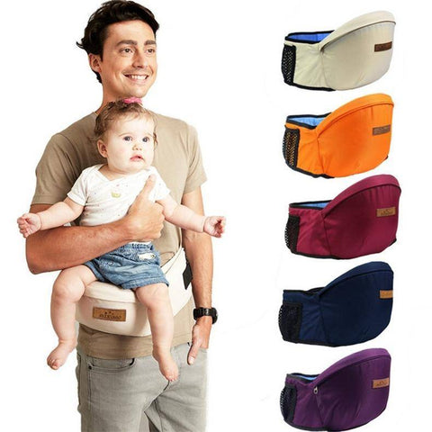 Image of New Design Kangaroo Hipseat Carrier Infant Baby
