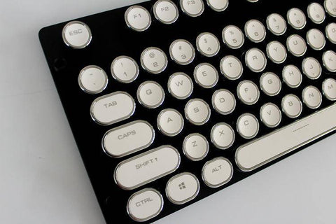 Image of Steampunk Style Typewriter Mechanical Keyboard Switch