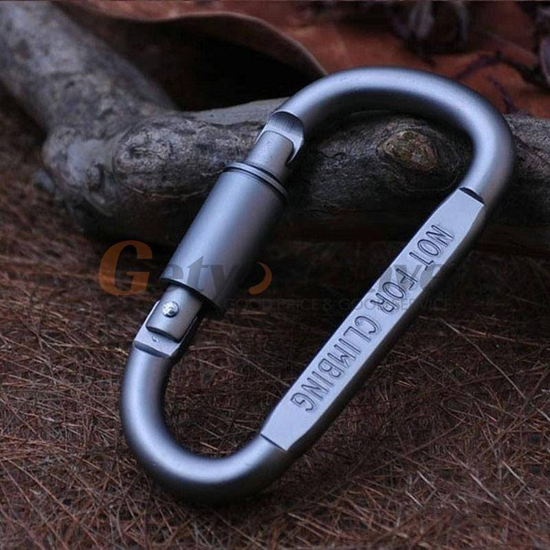 5pcs Outdoor Camping Equipment Aluminum Carabiner