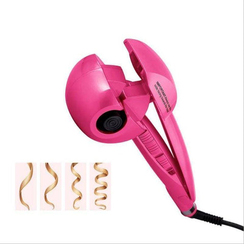 Image of Automatic Steam Hair Curler