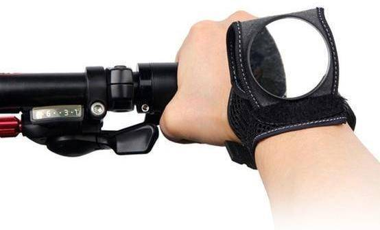 Bicycle Rear-Mirror Wristband Bike