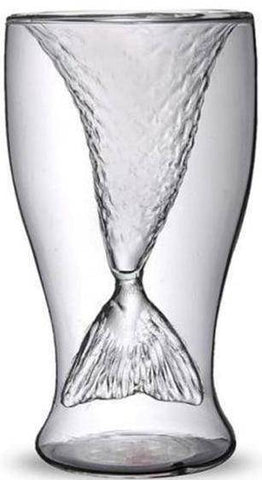Image of Mermaid Tail Glass