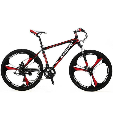 Image of Cyrusher X3 Mans Mountain Bike 26x17 Inch Aluminum Alloy Light Frame Fork Suspension 21 Speed