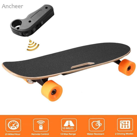 Image of Electric Skateboard Longboard with Remote Controller