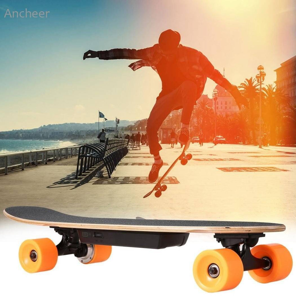 Electric Skateboard Longboard with Remote Controller