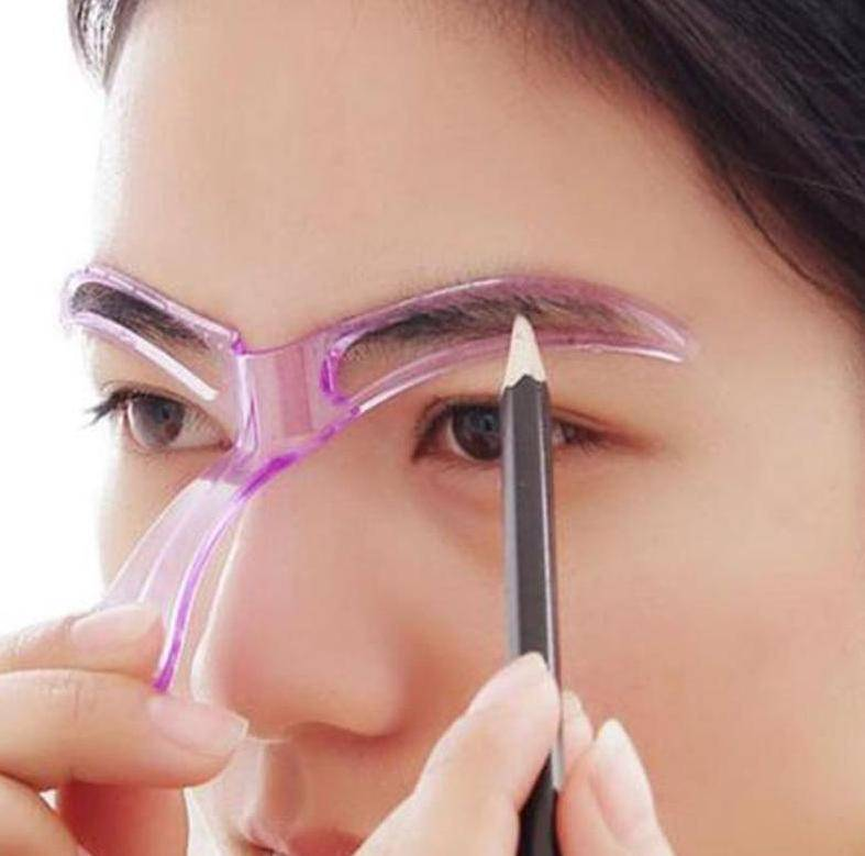 Creative Eyebrow Shaping Stencil