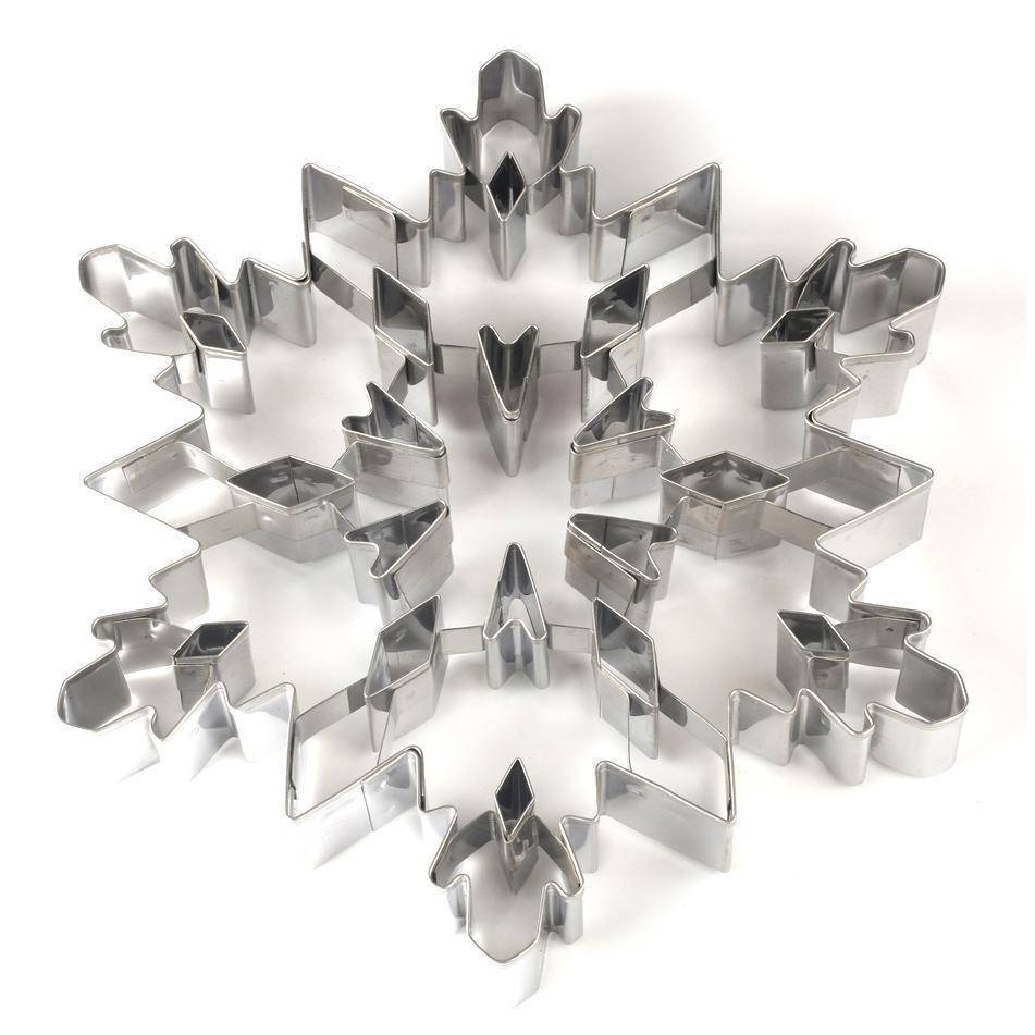 Christmas Snowflake Cookie Stainless Steel Cutter