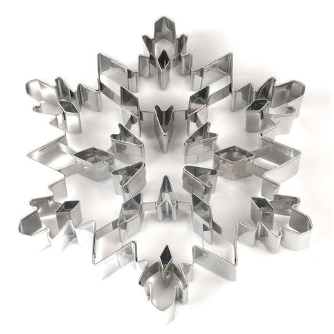 Image of Christmas Snowflake Cookie Stainless Steel Cutter