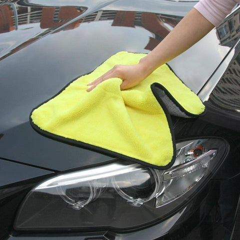 Image of Super Absorbent Car Cleaning Towel