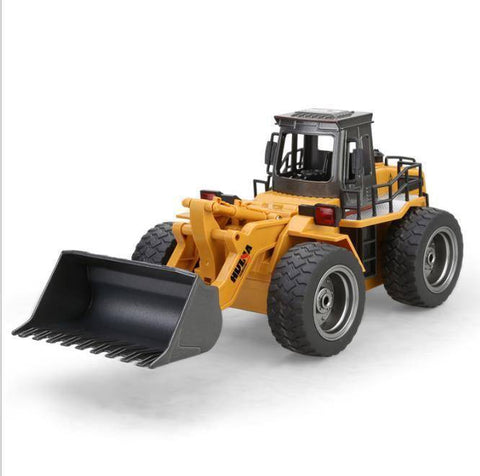 Image of 1/18 RC Metal Bulldozer RC