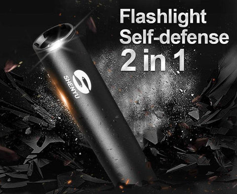 Image of Self Defense Baseball Flashlight Bat