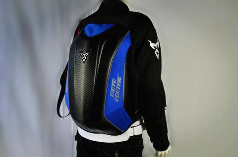 Image of Carbon Fiber Waterproof Motorcycle Backpack